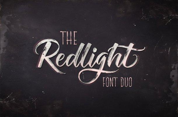 The Redlight Font Free