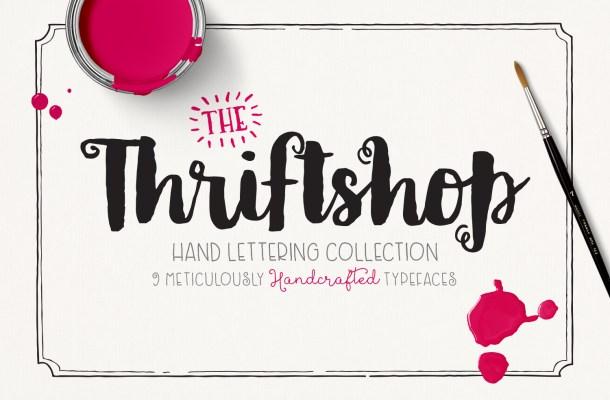 Thriftshop Font Free