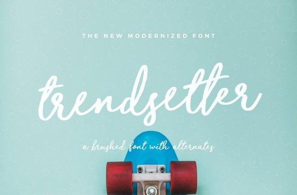 Trendsetter Script Font Free