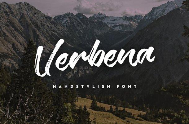 Verbena Handstylish Font Free