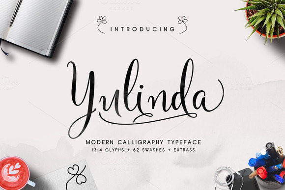 Yulinda Script Font Free