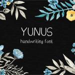 YunusH Font Free