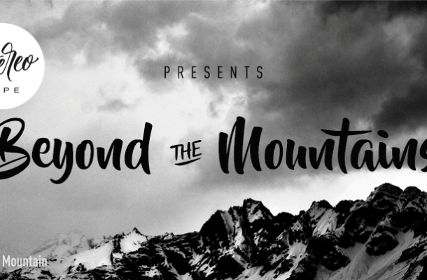 Beyond The Mountains Font Free
