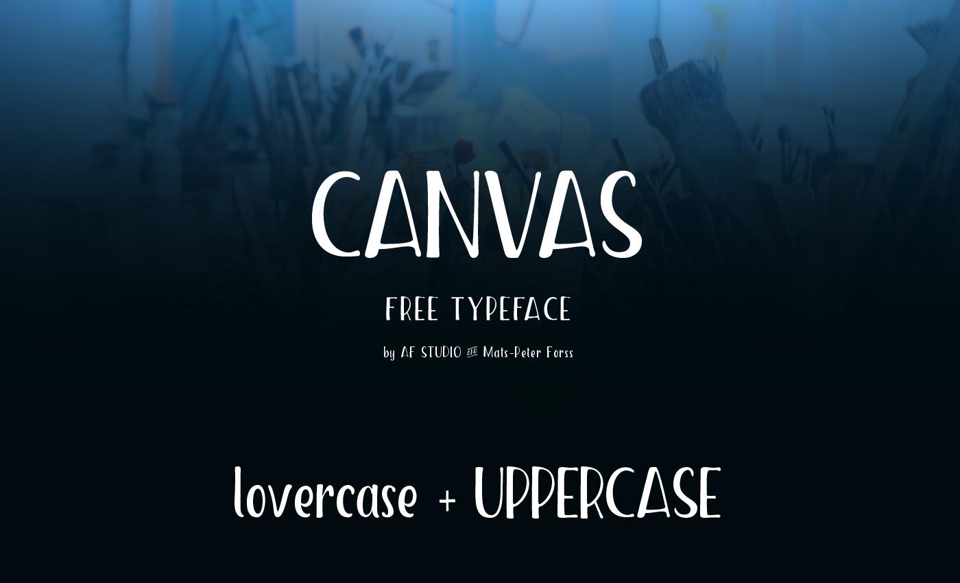 canvas-font