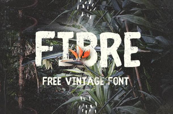 Fibre Font Free