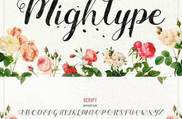 Mightype Script Font Free