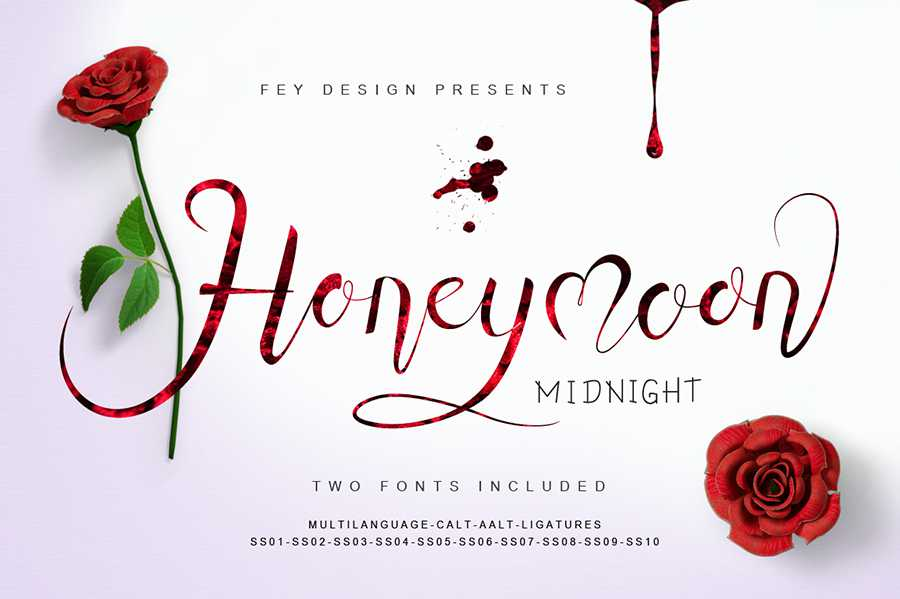 01-honey-moon-midnight-free-font-12