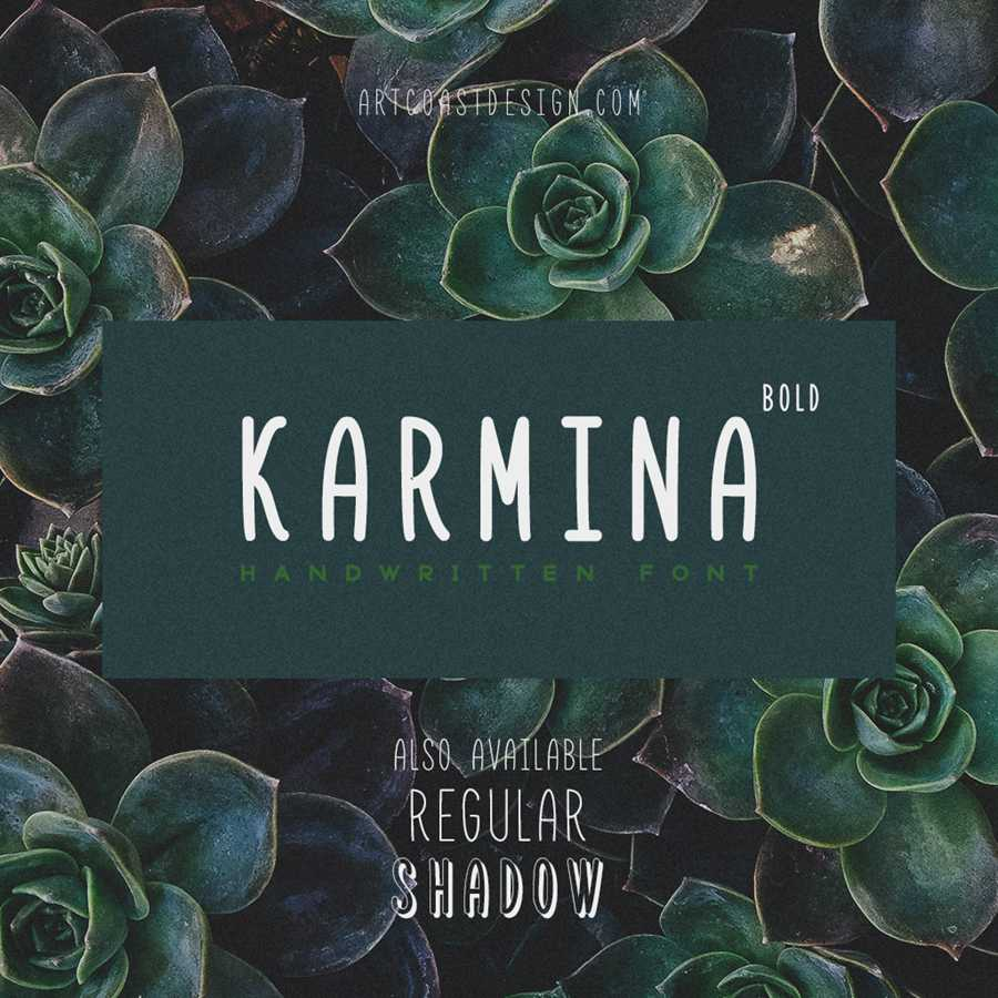 01_Karmina_Handwritten_Font