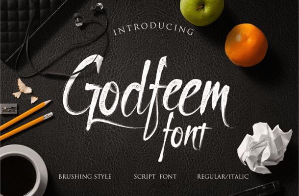 Godfeem Font Free