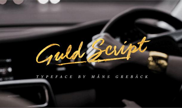Guld Script Font Free