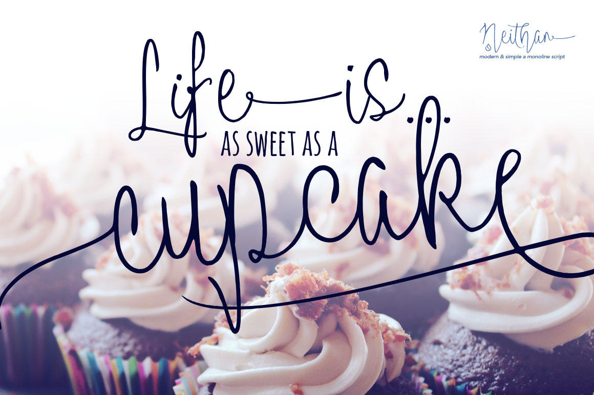 cupcake_neithan_modern_monoline_script-o
