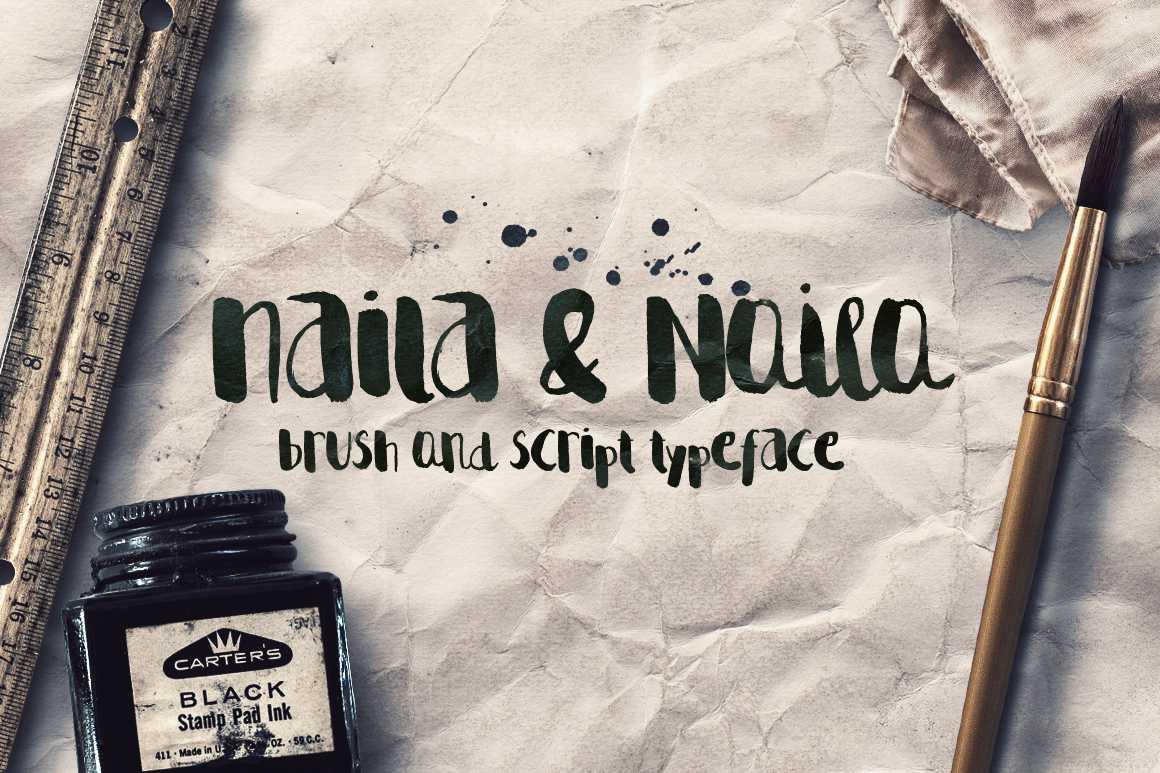 naila-script-font