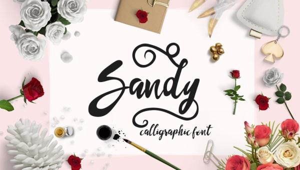 Sandy Font Free