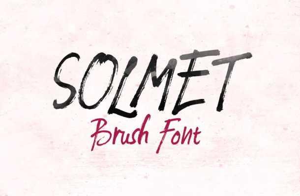 Solmet Marker Font Free