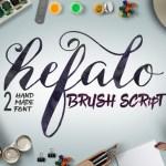 Hefalo Script Font Free
