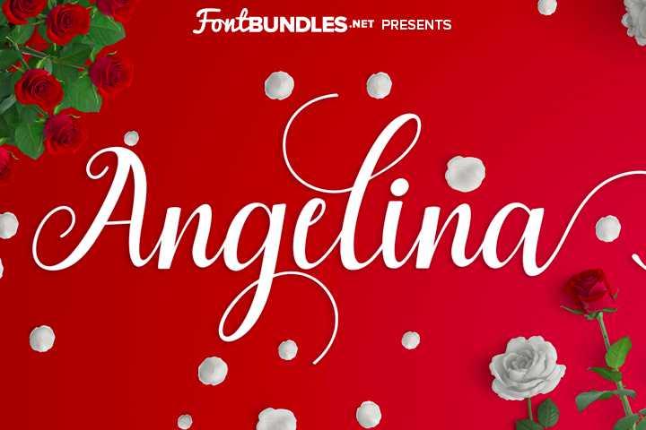 angelina-script-font