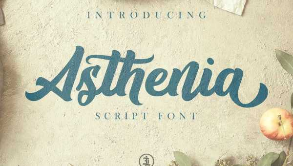 Asthenia Script Font Free
