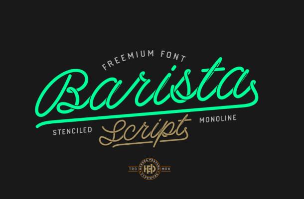 Barista Script Font Free