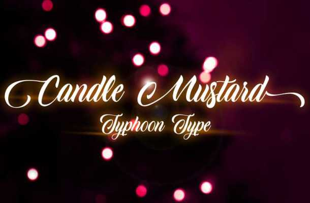 Candle Mustard Font Free Download