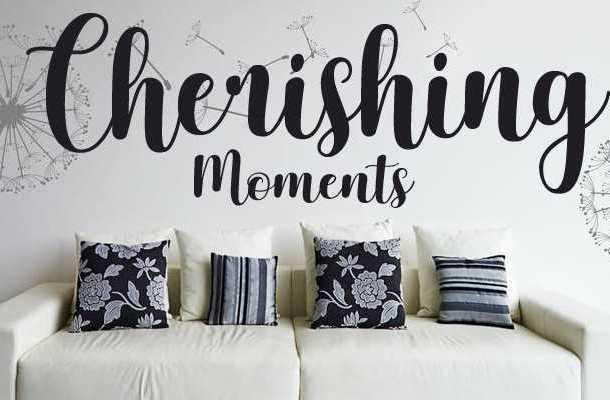 Cherishing Moments Font Free Download