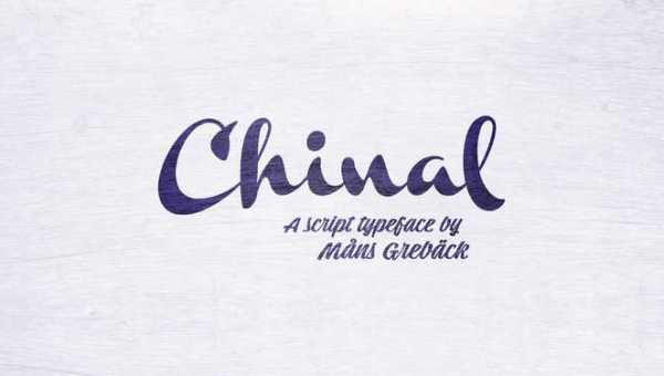 Chinal Script Font Free