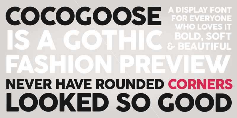 Cocogoose Font Family Free Download - Dafont Free