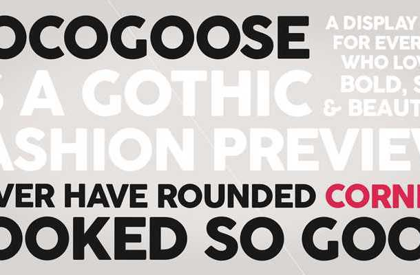 Cocogoose Font Family Free Download