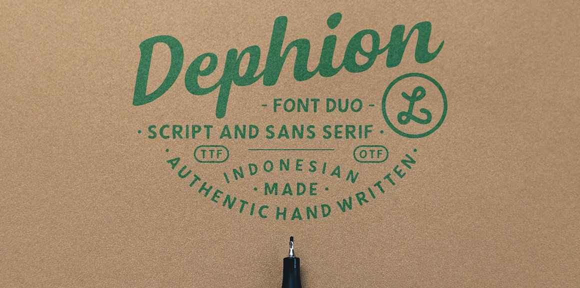 dephion-script-font