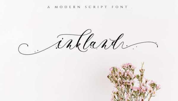 Inkland Script Font Free Download