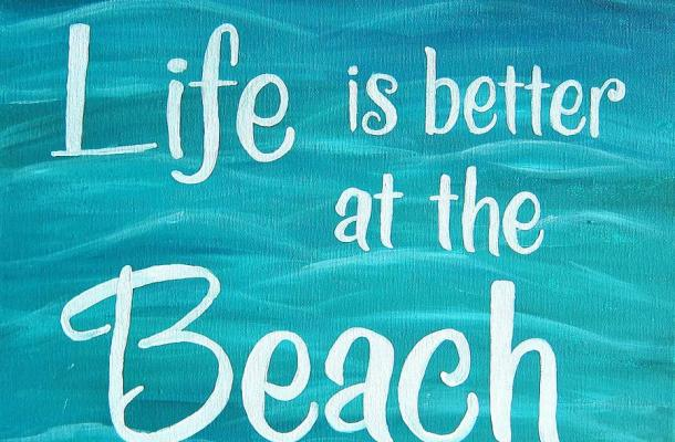 Romantic Beach Font Free Download
