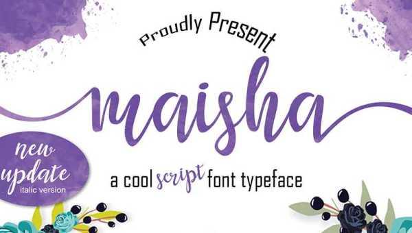Maisha Font Free Download