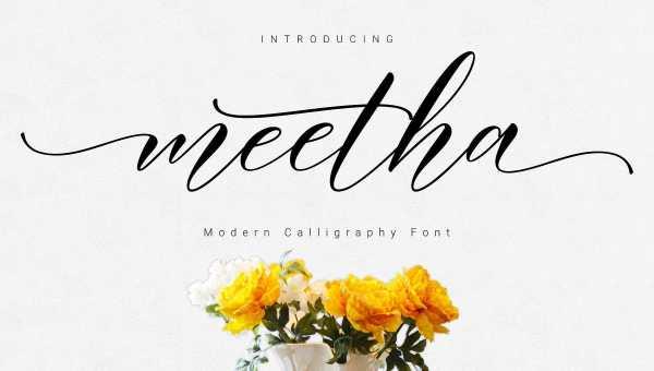 Meetha Script Font Free Download