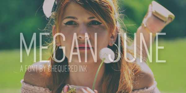 Megan June Font Free Download