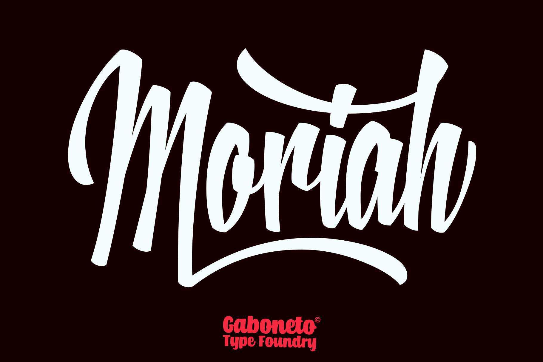 moriah-script-font