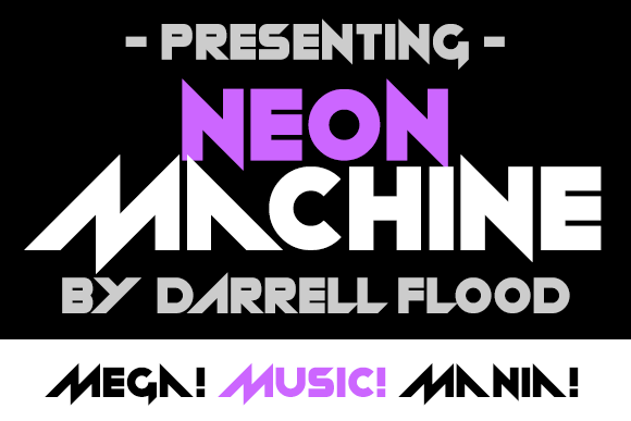 Neon machine Font Free Download