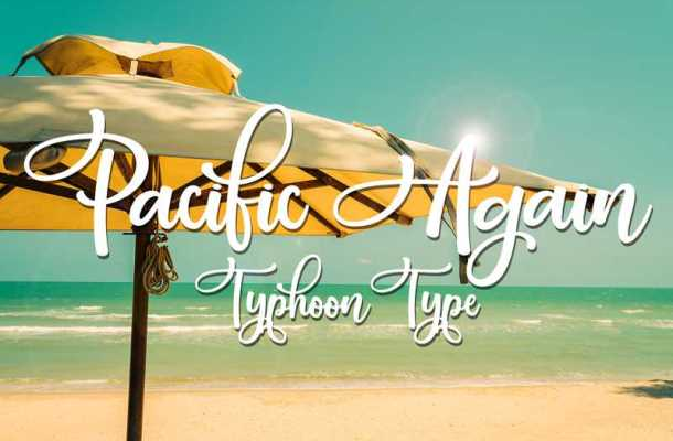 Pacific Again Font Free Download