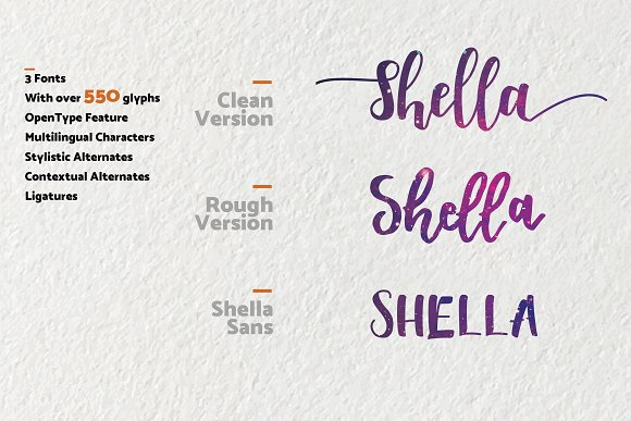 Shella Clean Font Free Download