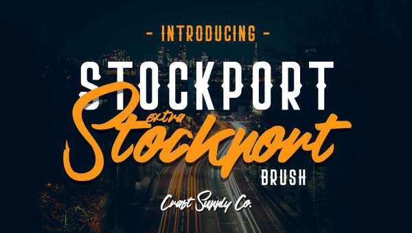 Stockport Font Family