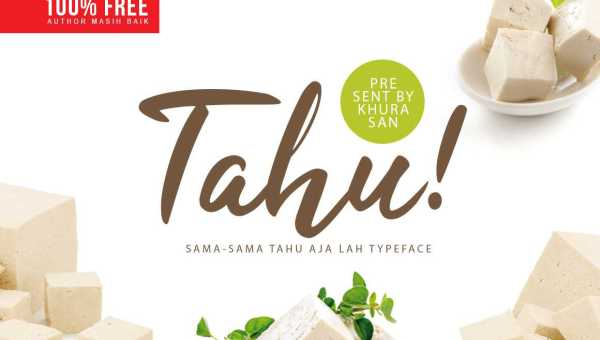 Tahu! Script Font Free Download