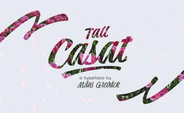 Tall Casat Script Font Free