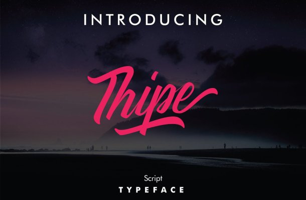 Thipe Script Font Free