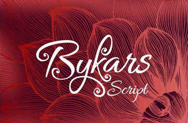 Bykars Font Free Download