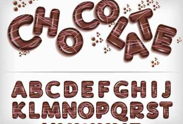 Chocolate Flavor Font Free Download