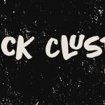 Black Cluster Font Free Download