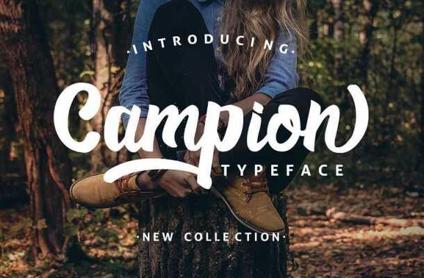Campio Script Font Free Download
