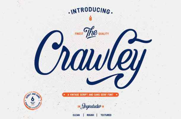 Crawley Font Free Download