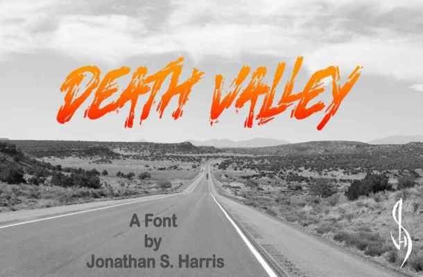 Death Valley Font Free Download