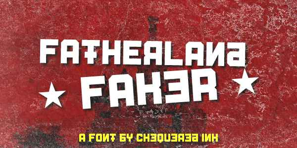 Fatherland Faker Font Free Download