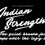 Indian Strength Font Free Download