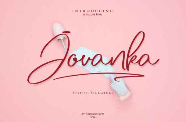 Jovanka Font Free Download